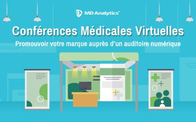 Quelles sont les conférences auxquelles les médecins sont le plus susceptibles d'assister par voie numérique plutôt qu'en personne en 2021?