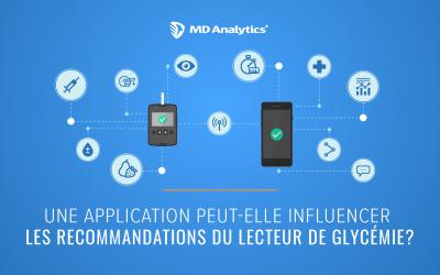 L'impact des applications en lien avec le diabète sur les recommendations des glucomètres
